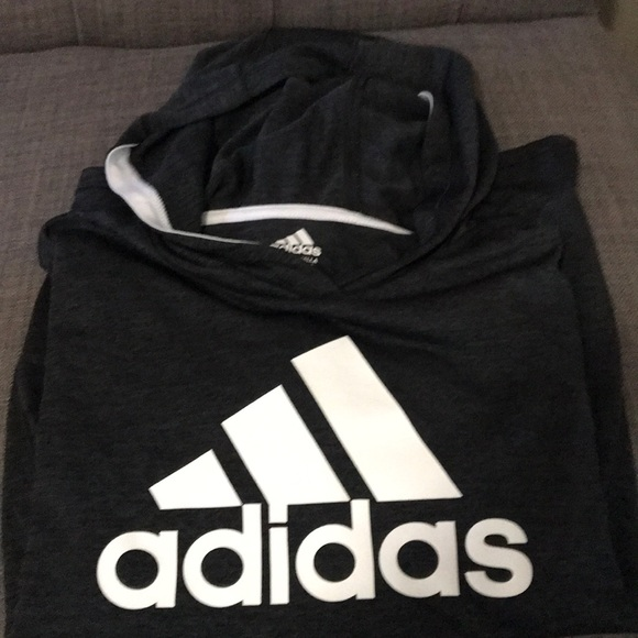 adidas Other - Adidas hooded long sleeve tee